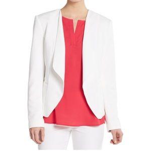 Ivanka Trump White Textured Blazer